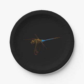 "Dragonfly 7"" paper plate"