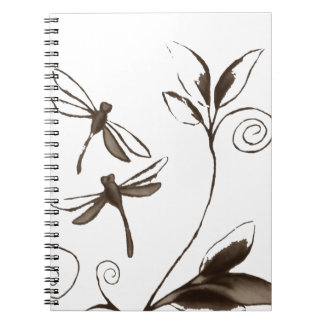 Dragonfly Abstract Notebook