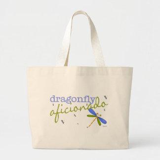Dragonfly Aficionado Canvas Bags