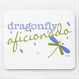 Dragonfly Aficionado Mouse Pad