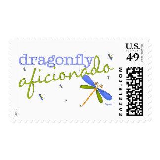 Dragonfly Aficionado Stamp