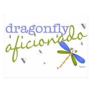 Dragonfly Aficionado Postcard