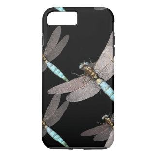 Dragonfly Air Force on Black iPhone 7 Plus Case