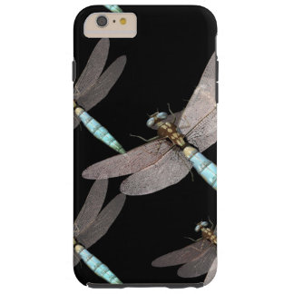 Dragonfly Air Force on Black Tough iPhone 6 Plus Case