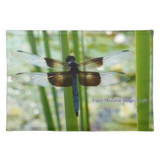 Dragonfly American MoJo Placemat Cloth Place Mat