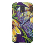 dragonfly and black eyed susans galaxy s5 cases