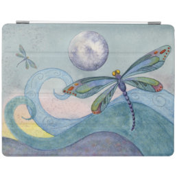 Dragonfly and the Full Moon Artistic iPad Cover