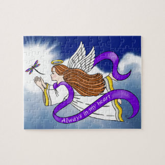 Dragonfly Angel Jigsaw Puzzle