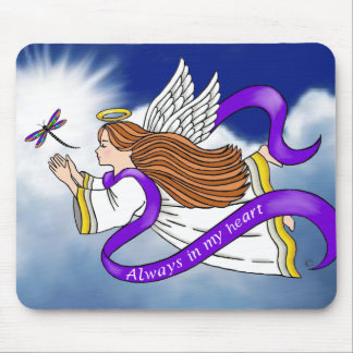 Dragonfly Angel Mouse Pad