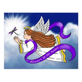 Dragonfly Angel Post Card