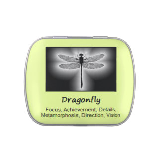 Dragonfly Animal Spirit Meaning Collectible Jelly Belly Tins