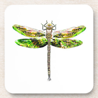 Dragonfly art and design gifts drink coaster
