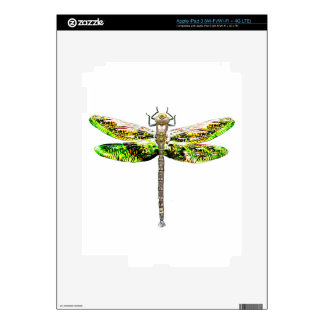 Dragonfly art and design gifts iPad 3 decals