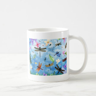 dragonfly art nola kelsey coffee mug