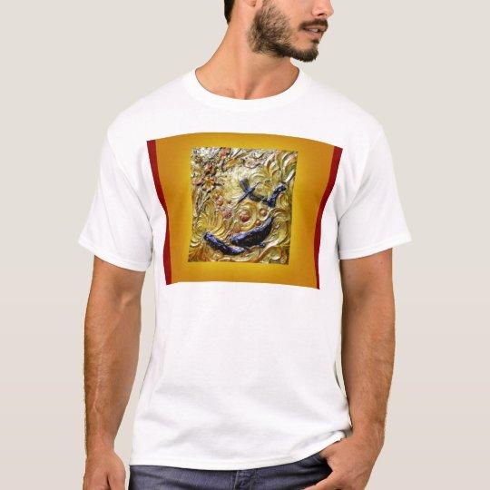 Dragonfly Art Nouveau Bronze by Sharles T-Shirt