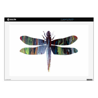 Dragonfly art skins for laptops