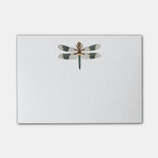Dragonfly Artwork Post it Notes Sticky Memo Pad