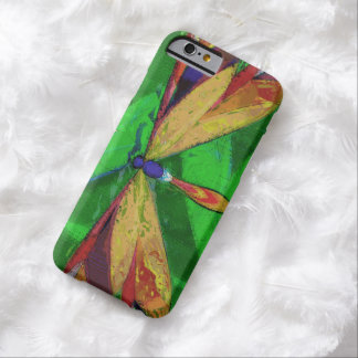 Dragonfly, Arty Insect, Colourful Dragonfly Barely There iPhone 6 Case