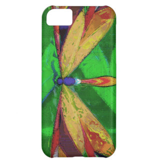 Dragonfly, Arty Insect, Colourful Dragonfly iPhone 5C Case
