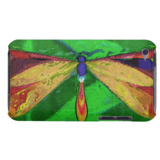 Dragonfly, Arty Insect, Colourful Dragonfly iPod Touch Case