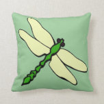 Dragonfly Baby Throw Pillow
