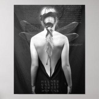 Dragonfly back 2 Print