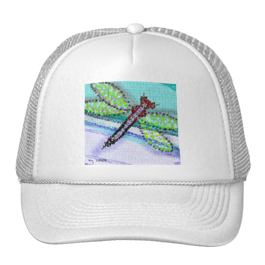 dragonfly baseball cap trucker hat