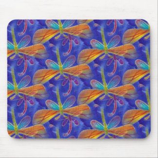 Dragonfly Blue Mouse Pad