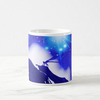 Dragonfly Blues Magic Mug