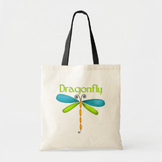 Dragonfly Budget Tote Bag