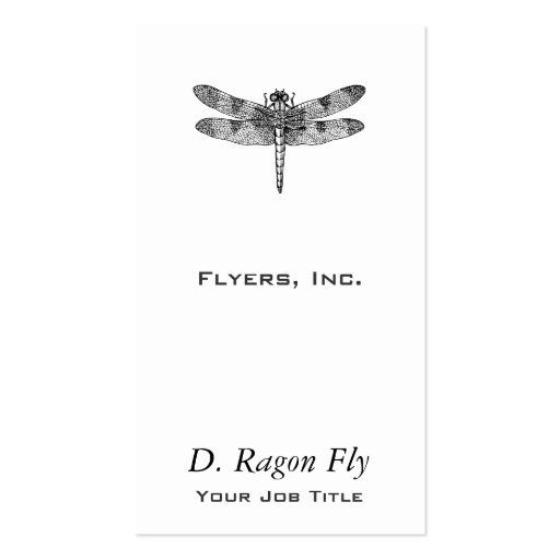 Dragonfly Business Cards