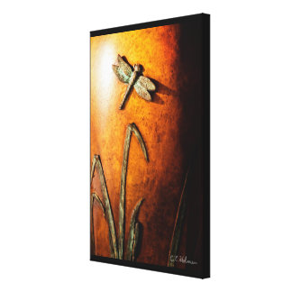 Dragonfly Stretched Canvas Print