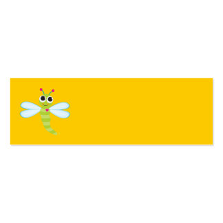 Dragonfly Card Double-Sided Mini Business Cards (Pack Of 20)