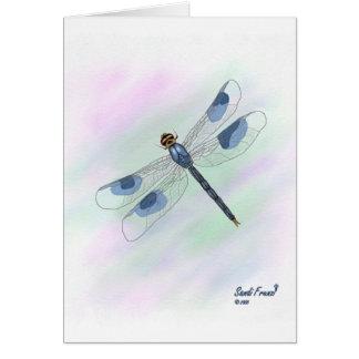 Dragonfly Card With Poem