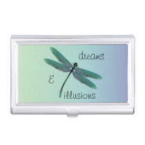 Dragonfly Case For Business Cards