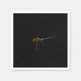 Dragonfly Cocktail Paper Napkin