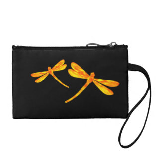 Dragonfly Coin Purse - Fire