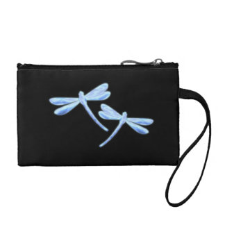 Dragonfly Coin Purse - Ice Glow