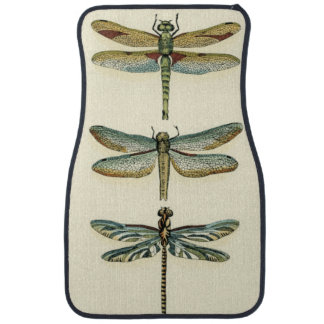 Dragonfly Collection by Chariklia Zarris Car Mat