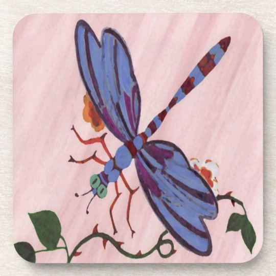 Dragonfly Cork Coaster