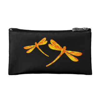 Dragonfly Cosmetic Bag - Fire