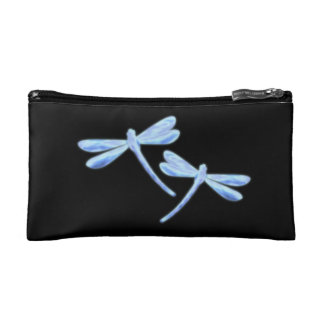 Dragonfly Cosmetic Bag - Ice Glow