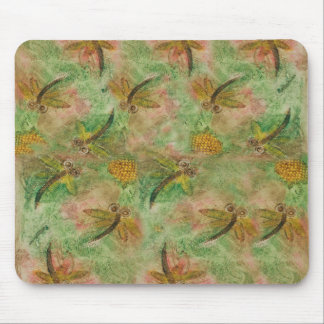 Dragonfly Cotton Candy Mouse Pad
