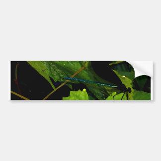 """""""Dragonfly""""  CricketDiane Designer Stuff Bumper Sticker"""