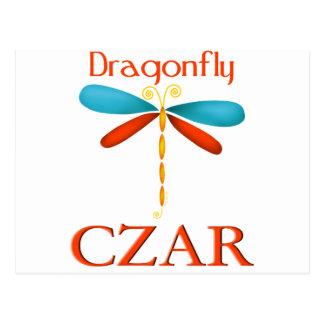 Dragonfly Czar Postcard
