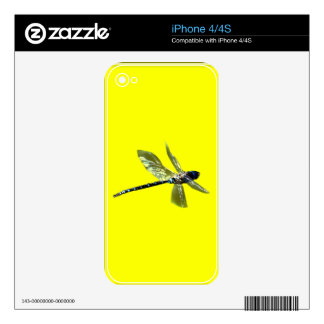 Dragonfly Damsel Fly Insect-lovers Gift Series Skins For iPhone 4