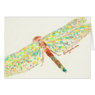 Dragonfly Dance Fine Art Note Card