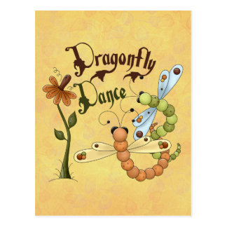 Dragonfly Dance Post Card