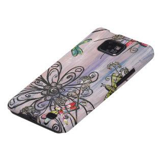 Dragonfly Dawn Galaxy S Case Samsung Galaxy S2 Covers