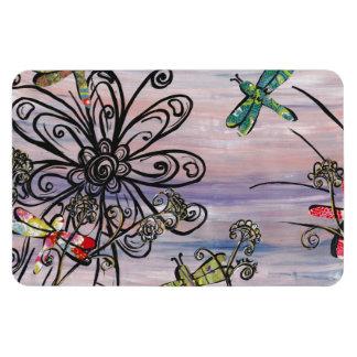 Dragonfly Dawn magnet